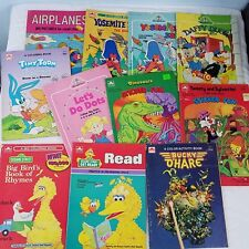 VTG Lot of 11 Activity Coloring Books Used Bucky O'Hare Looney Tunes Sesame St