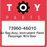 73960-46010 Toyota Air bag assy, instrument panel passenger w/o door 7396046010,