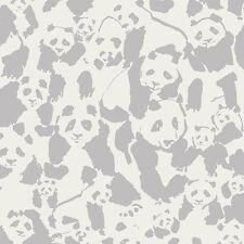 Art Gallery ~ Pandalicious Pandalings Pod Shadow Fabric / quilting panda grey