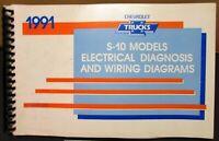 1991 Chevrolet Electrical Wiring Diagram Service Manual S-10 Models Repair