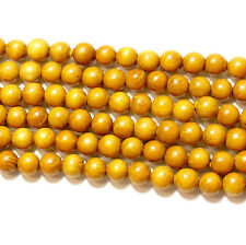 Goldenes Sandelholz 8 mm Holzfarben Top Qualität Bacatus #4077
