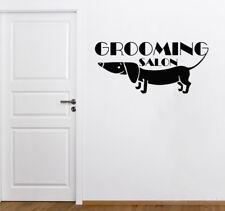 Wall Decals Domestic Animal Vinyl Decal Dog Sticker Window Door Decor Shop aa223