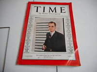 JAN 31 1938 TIME vintage magazine SECRETARY OF THE TREASURY