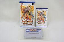 FATAL FURY Special Super Famicom Nintendo Takara Japan Boxed Game sf