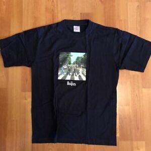 THE BEATLES: ABBEY ROAD T-Shirt Boys/Girls Navy Small NEW
