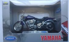 WELLY '02 YAMAHA ROAD STAR WARRIOR 1:18 DIE CAST MODEL NEW IN BOX LICENSED