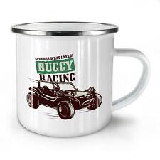 Buggy Racing NEW Enamel Tea Mug 10 oz | Wellcoda