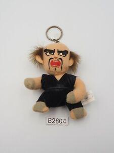 "Tekken B2804 Heihachi Mishima Banpresto 1996 Plush 3.5"" Mascot Toy Japan"