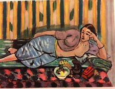Henri Matisse,Odalisque With Little Red Coffee Offs.Lithograph 1939,Platesigned