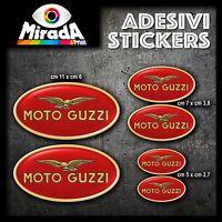 Adesivi Stickers MOTO GUZZI rosso Griso Stelvio California Cardellino Nevada V7