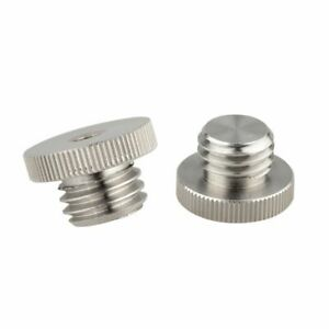"""CAMVATE 1/4""""-20 to 5/8""""-11 Threaded Screw Adapter For Tripod Laser Level Adapter"""