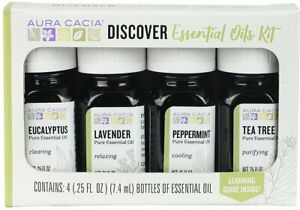 Discovery Kit Essential Oil by Aura Cacia