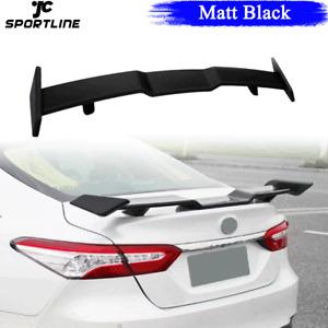 Matt Black Rear Trunk Spoiler Wing for Toyota 8th Gen Camry LE SE XLE XSE 18-20