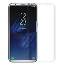 Samsung Galaxy S8 Schutzglas Full Cover 3D Panzerfolie CURVED TRANSPARENT Good