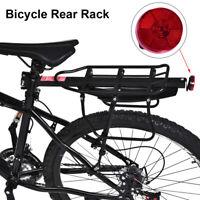 Universal Bicycle Mountain Bike Rear Rack Seat Post Pannier Luggage Carrier Set