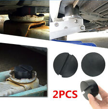 2x  Slotted Rail Floor Disk Rubber Pad Adapter for Pinch Weld Side JACKPAD Tool