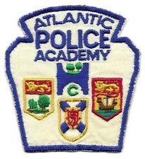 Atlantic Prince Edward Island CANADA Police Academy patch Holland College OLD