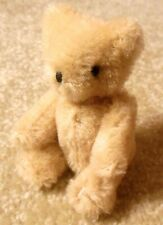 "Vintage Jointed Mohair Plush TEDDY BEAR 3.5"" Miniature Figure"