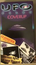 UFO Files Coverup VHS 1996 Roswell, New Mexico Aliens OOP