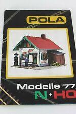 POLA MODELLE 1977 N+HO Catalogue Catalog Katalog Catalogo