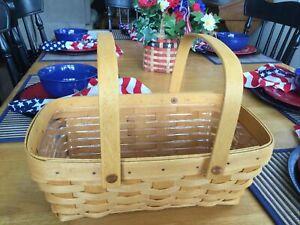 Longaberger Medium Chore Basket, 2002