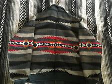 Pendleton Vintage USA Wool Coat Jacket Mens Large Native Geometric 1960s Charity