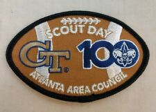 Boy Scouts Of America BSA Scout Day Patch Georgia Tech Jackets Atlanta Football