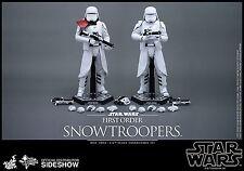 SIDESHOW HOT TOYS STAR WARS TFA FIRST ORDER SNOWTROOPER SET 1:6 FIGUREN MMS323.