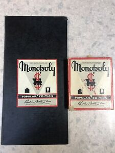 Antique Vintage Monopoly Board Game 1940s USA Version MONOPOLY