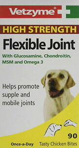 Vetzyme High Strength Flexible Joint 90 Tablets Vitamins & Supplements