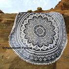Bohemian Mandala Round Beach Tapestry Hippie Throw Yoga Mat Towel Blanket Indian