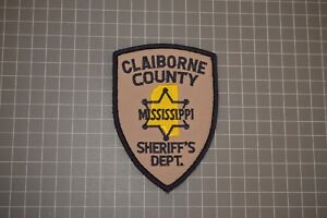 Claiborne County Mississippi Sheriff's Department Patch (B17-Q)