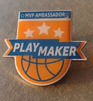 "RARE!! Amazon MVP Ambassador ""Playmaker"" Peccy Collector Enamel Pin Basketball"