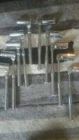 Joblot scaffolding Spanners 5 ratchet and 5 adjustable new call 07445253003 nick