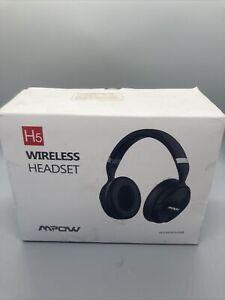Mpow H5 Active Noise Cancelling Bluetooth 4.1 Headphones Wireless Hi-Fi Mic