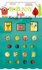 BRADS Little Monster Collection Scrapbooking BRADS Pack BoBunny 15804223 NEW