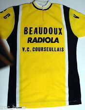 maillot cycliste BEAUDOUX RADIOLA  taille 3