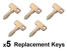 (5) Club Car DS 1982+ Gas/Electric Golf Cart Key Replacement Ignition Keys