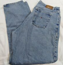 Tommy Hilfiger Jeans 18 Classic Fit Straight Leg Denim Pants Plus Made in Mexico