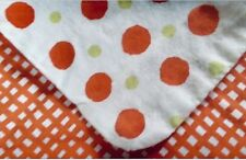 IKEA Twin Set Quilt Cover Sham Orange Dots Polka Dots Vilda Prickar Nip Duvet