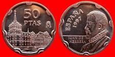 50 PESETAS J.CARLOS I 1997 ESPAGNE DE SC CARTOUCHE