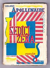 KAREL Teige Seppelliti mrkvicka Ceco modernist Avant-Garde design Apollinaire 1925