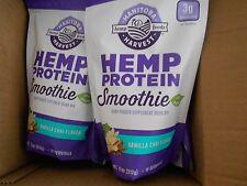 3 Pack Manitoba Harvest Hemp Protein Smoothie - VANILLA CHIA - 11 oz ea. 4/2017