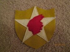 WWI US Army 2nd Division  patch wool