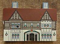 Vintage Atlanta Georgia Callanwolde Fine Arts Center Christmas House Tudor Model