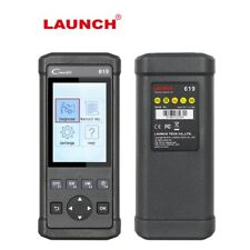 Auto Diagnostic Tool Launch CR619 OBD2  Scanner Clean ABS SRS Airbag Code Reader