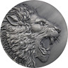 Panthera Leo Expressions of Wildlife  Antique finish Silver Coin Cameroon 2020