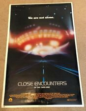 Close Encounters Of The Third Kind / 1977 Reproduction Movie Poster