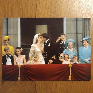 Postcard The Royal Wedding of H.R.H. Prince Andrew and Princess Sarah Postcard