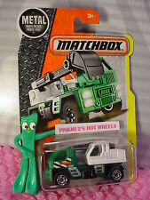 2016 Matchbox Mbxcavator nip☆green/white; 1400☆Construction☆201 7 case A